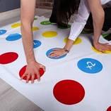 Напольная игра Твистер от Danko Toys для детей и взрослых, развлекательная подвижная игра, семейный досуг, фото 10