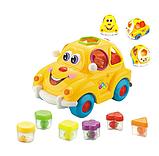 """Музыкальный сортер машинка """"Автошка"""" мини, игрушка крошка автошка, развивающая игрушка для мелкой моторики, фото 2"""