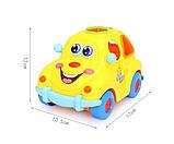 """Музыкальный сортер машинка """"Автошка"""" мини, игрушка крошка автошка, развивающая игрушка для мелкой моторики, фото 3"""