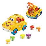 """Музыкальный сортер машинка """"Автошка"""" мини, игрушка крошка автошка, развивающая игрушка для мелкой моторики, фото 4"""