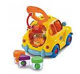 """Музыкальный сортер машинка """"Автошка"""" мини, игрушка крошка автошка, развивающая игрушка для мелкой моторики, фото 5"""