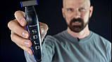 Двойной триммер бритва мужская универсальная MicroTouch SOLO стрижка бороды, фото 9
