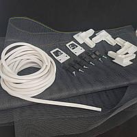 Набор Арка Пласт для ремонта внутрипроемной москитной сетки высотой до 1.4 м (белый)