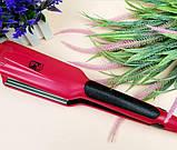 Выпрямитель для волос с гофре PM-1221, Керамический утюжок для волос, Крупное гофре, Прибор для укладки волос, фото 5