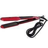 Выпрямитель для волос с гофре PM-1221, Керамический утюжок для волос, Крупное гофре, Прибор для укладки волос, фото 8