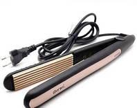 Утюжок ГОФРЕ плойка для волос Gemei GM-2955W, Прибор для укладки волос, Щипцы, Гофре для прикорневого объема
