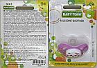 Соска-пустышка силиконовая вишнеподобная, 0+ BabyTeam, арт.3003, фото 4