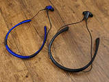 Стереонаушники для спорта Stn-730 наушники-вкладыши Level U Золотые, спортивная Bluetooth гарнитура Реплика, фото 4