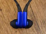 Стереонаушники для спорта Stn-730 наушники-вкладыши Level U Голубые, спортивная Bluetooth гарнитура Реплика, фото 8