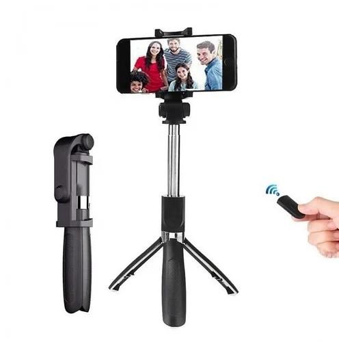Универсальный маленький штатив для телефона с селфи-палкой 360 и пультом L01s, трипод, тренога, Bluetooth