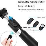 Универсальный маленький штатив для телефона с селфи-палкой 360 и пультом L01s, трипод, тренога, Bluetooth, фото 10