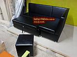 Кухонный уголок черный Пегас + спальное место кровать, фото 4