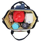 Сумка-рюкзак для малыша и мамы (4цвета), фото 9