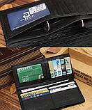 Мужской кожаный кошелек, клатч, портмоне Крокодил Alligator, фото 6