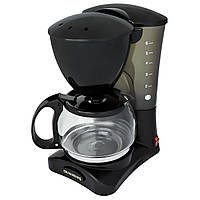 Капельная кофеварка Crownberg + постоянный фильтр (504)