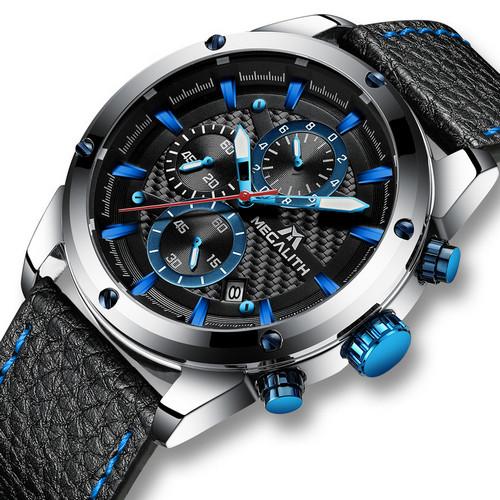 Megalith 8004M Black-Silver-Blue