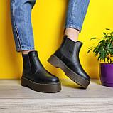 Женские зимние ботинки Dr. Martens 2976 Chelsea (Мех), др мартенс, жіночі черевики Dr Martens, ботінки мартінс, фото 10