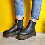 Женские зимние ботинки Dr. Martens 2976 Chelsea (Мех), др мартенс, жіночі черевики Dr Martens, ботінки мартінс, фото 8