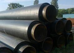 Труба стальная теплоизолированная в ПЕ оболочке ф 32/90 мм