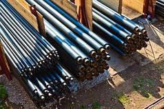 Труба стальная предизолированная в ПЕ оболочке ф 38/110 мм