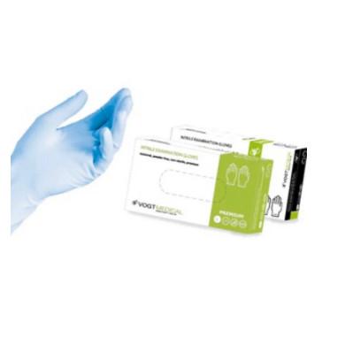 Перчатки Vogt Medical нитриловые смотровые нестерильные неприпудренные р.М