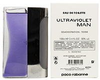 Тестер мужской туалетной воды Ultraviolet Paco Rabanne (100 мл)