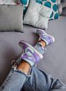 Женские кроссовки Air Jordan 1 Mid Purple Aqua, фото 4