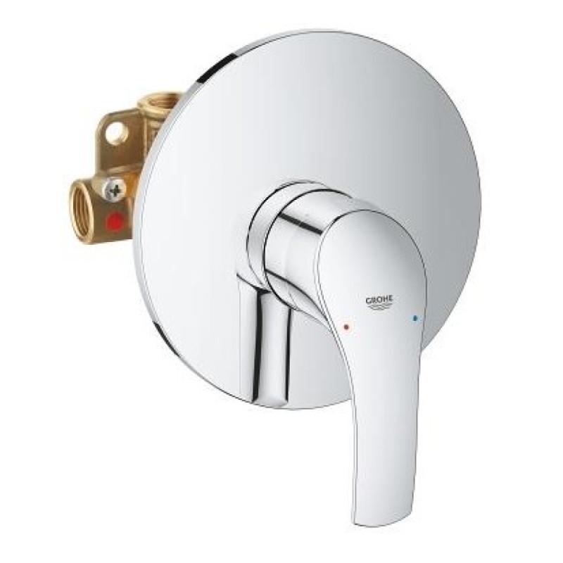 Латунный смеситель (кран) для душа скрытого монтажа Grohe Eurosmart 33556002