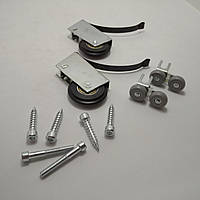 Комплект роликов Sigma для шкафа-купе и раздвижных систем открытого профиля (ВЕРХ+НИЗ)