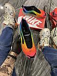Nike Air Max 720 Женские осенние радужные текстильные кроссовки. Женские кроссовки на шнурках, фото 3