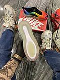 Nike Air Max 720 Женские осенние радужные текстильные кроссовки. Женские кроссовки на шнурках, фото 5