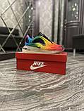 Nike Air Max 720 Женские осенние радужные текстильные кроссовки. Женские кроссовки на шнурках, фото 6