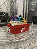 Nike Air Max 720 Женские осенние радужные текстильные кроссовки. Женские кроссовки на шнурках, фото 8