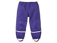 Штаны грязепруф фиолетовые утепленные Lupilu р.98/104см