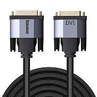 Кабель DVI - DVI 2 м Baseus Enjoyment Series CAKSX-ROG, фото 1
