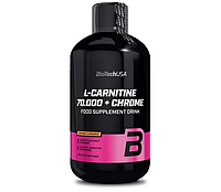 BioTech L-carnitine 70000 + Chrome Liquid 500 ml, фото 1