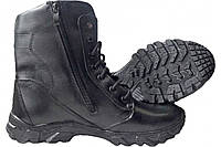 Ботинки зимние мужские кожаные Ботинки тактические Winterfrost ZaMisto Еnergy Черные (ЗМ WF-800) 40, фото 1
