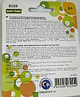 Соска-пустушка латексна вишнеподобная з ковпачком та світловим кільцем, 6+, BabyTeam, арт.3225, фото 2