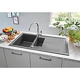 Гранитная кухонная мойка Grohe Sink K400 31642AT0, фото 4