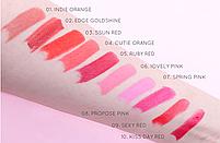 Помада для губ Jigott Romantic Kiss Lipstick № 1 Indie Orange 3.5 г, фото 3