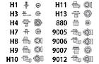 Ксеноновая лампа H1 4300(2шт), фото 3