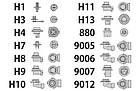Ксеноновая лампа H3 6000(2шт), фото 3