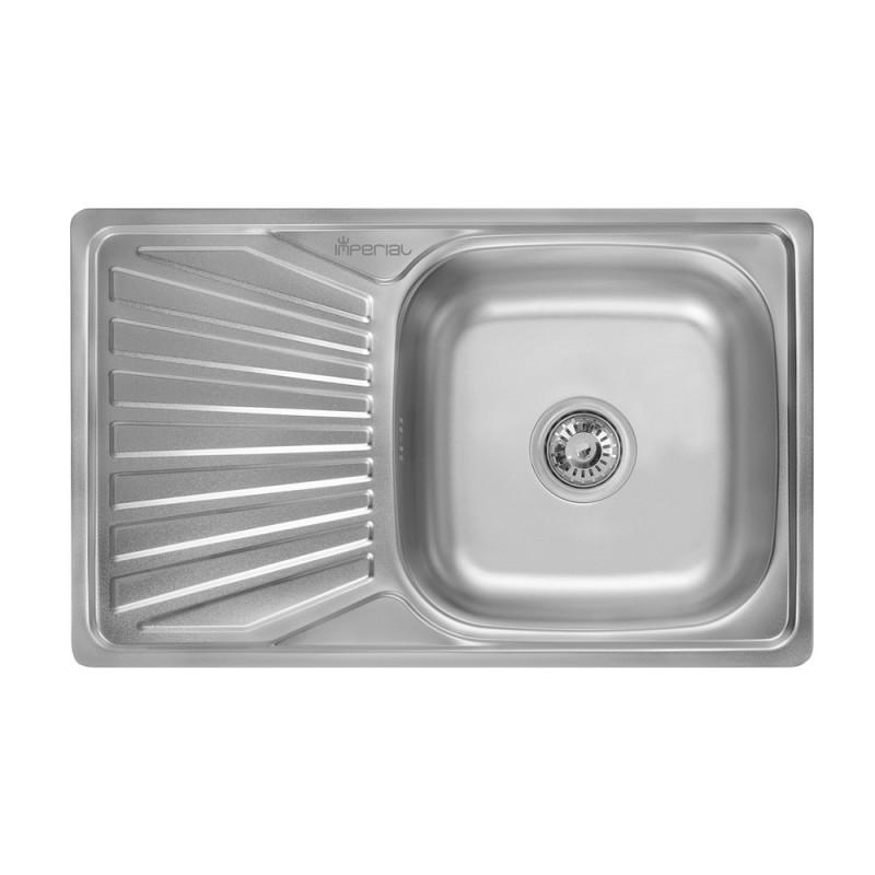 Кухонная мойка из нержавеющей стали Imperial 7848 Decor (IMP7848DEC)