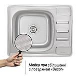 Кухонная мойка из нержавеющей стали Imperial 6350 Decor (IMP6350DEC), фото 3