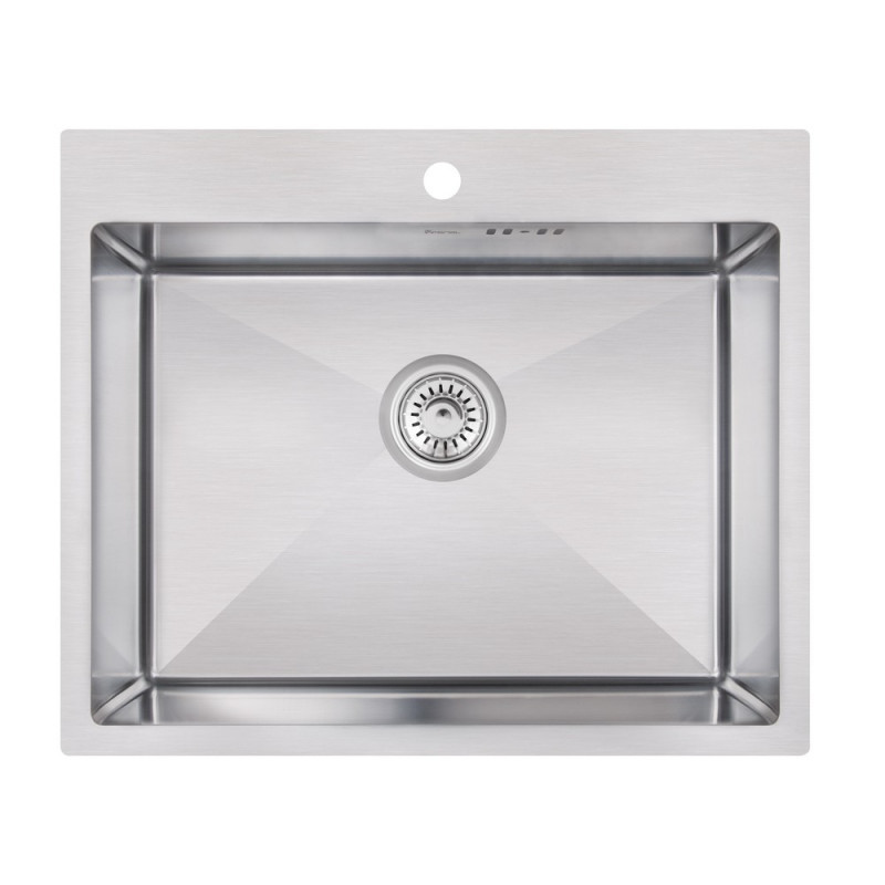 Кухонная мойка из нержавеющей стали Imperial Handmade D6050 2.7/1.0 мм (IMPD6050H10)