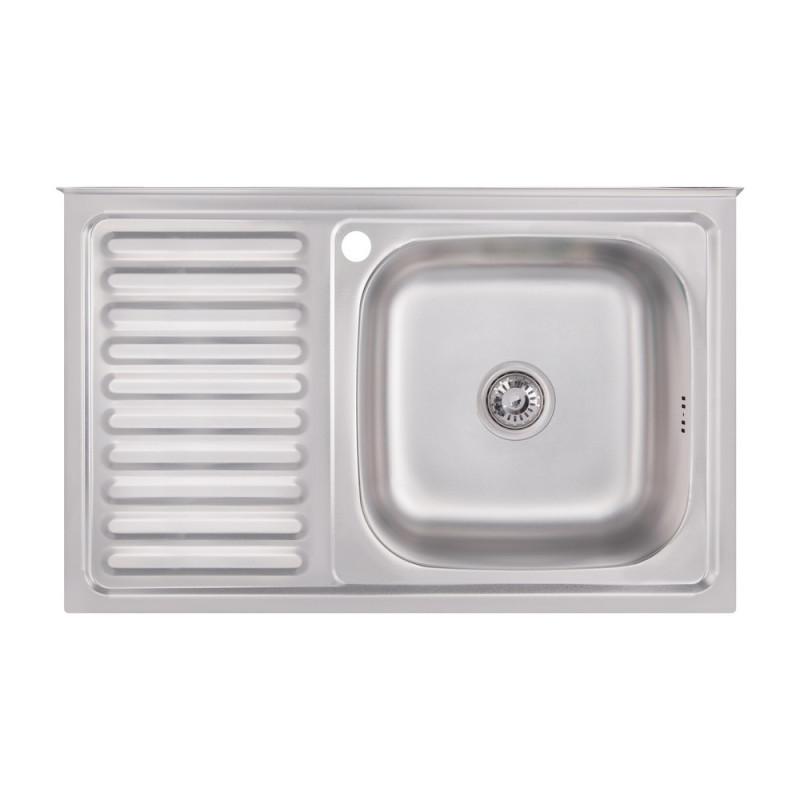 Кухонная мойка из нержавеющей стали Imperial 5080-R Satin (IMP5080RSAT)