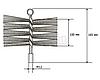 Щітка металева для чищення димоходу Savent 160 мм, фото 4