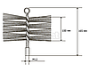 Щітка металева для чищення димоходу Savent 250 мм, фото 4