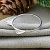 Серебряное кольцо размер 17.5 вес 0.8 г , фото 3