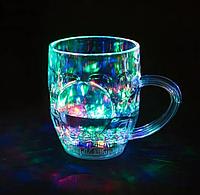 Стакан с подсветкой Color Cup W-70, портативная колонка, беспроводная колонка, фото 1
